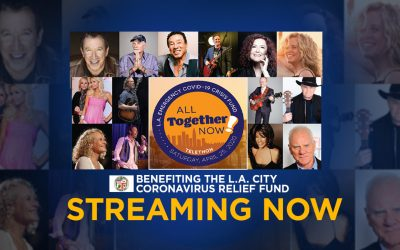 "TOMMY ROE JOINS SMOKEY ROBINSON, CAROLE KING, JEFF BRIDGES, TIM ALLEN, MARY WILSON, RICK SPRINGFIELD, SHEILA E, BAD COMPANY'S PAUL RODGERS, LISA LOEB, WINGER, MIKE LOVE OF THE BEACH BOYS, MELISSA MANCHESTER, AND MORE FOR L.A. EMERGENCY COVID-19 CRISIS FUND ""ALL TOGETHER NOW"" TELETHON HAPPENING TODAY, SATURDAY, APRIL 25, 2020"